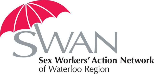 swan: sex workers action network of waterloo region header image